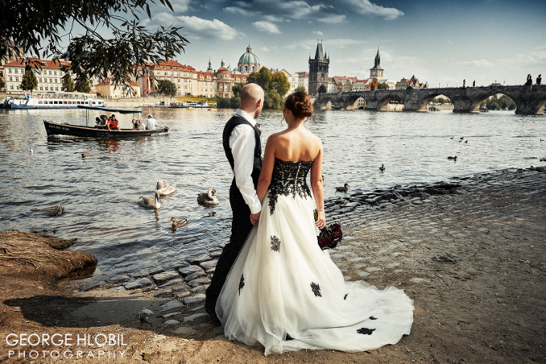 Prague wedding photography - Wedding photo shoot Prague