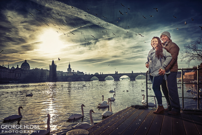 Vacation photographer Prague - Couple photography in Prague