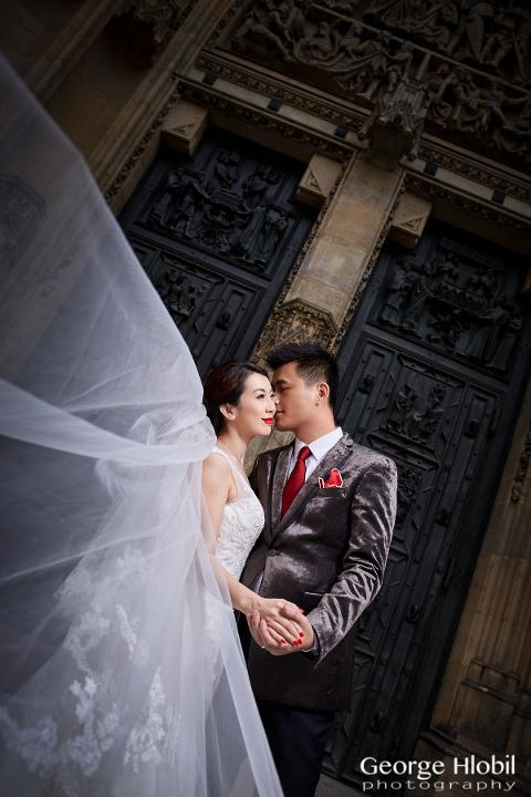 Prague pre-wedding photography - Overseas pre-wedding photo shoot Prague