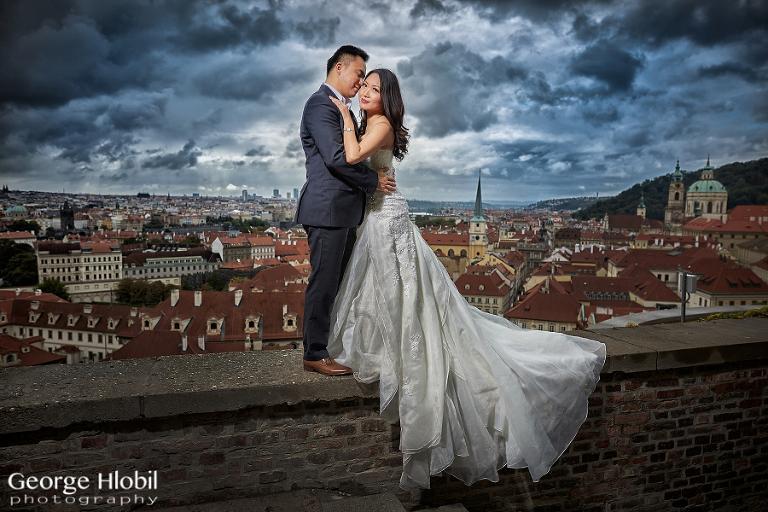 Prague pre-wedding photography