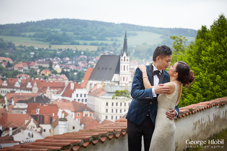 Pre-wedding photo shoot Cesky Krumlov - Czech Republic pre-wedding photography