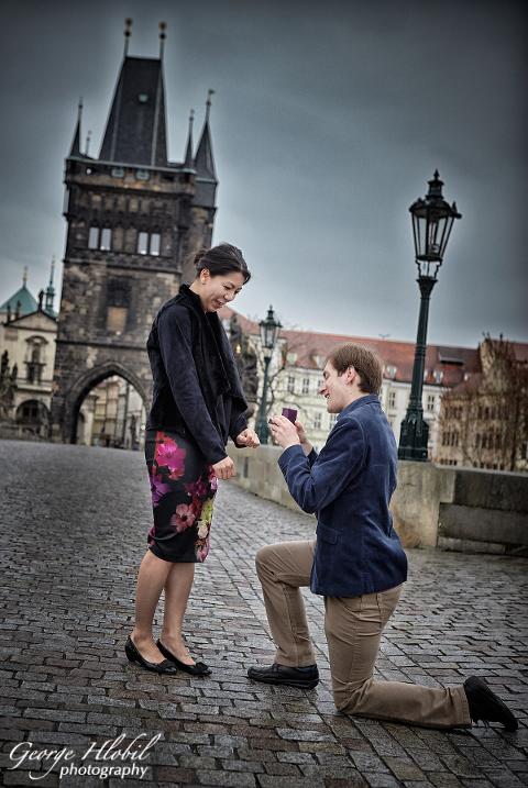 Surprise proposal in prague photographer in prague for Surprise engagement photo shoot