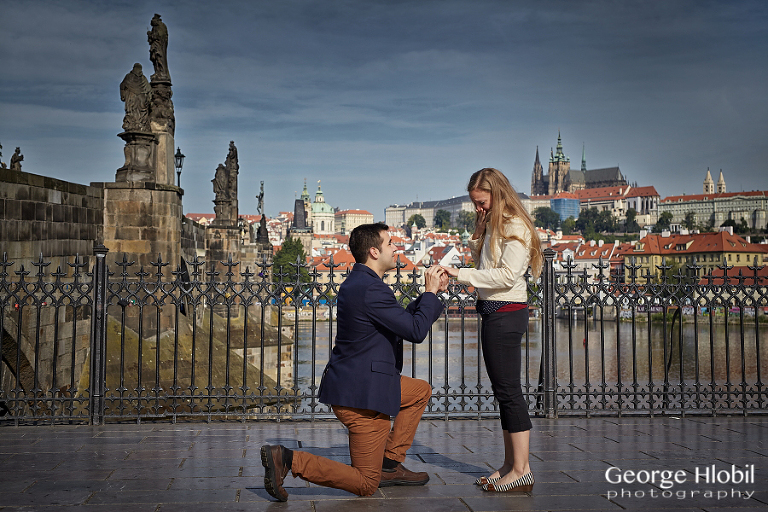 Surprise marriage proposal in prague photographer in for Surprise engagement photo shoot