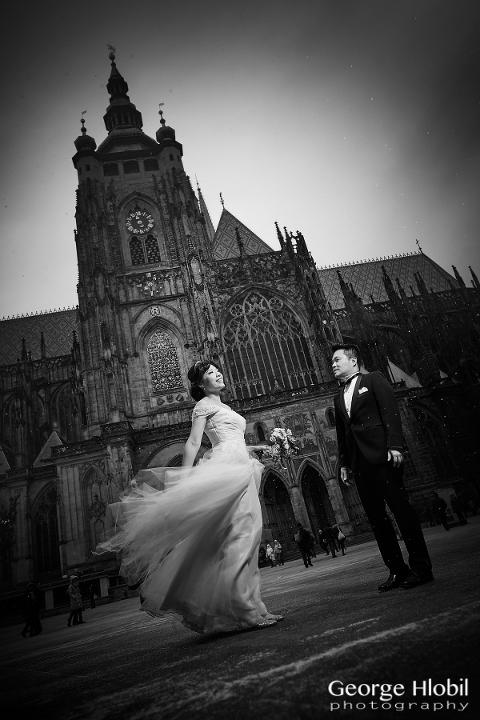 Overseas pre-wedding shoot - Prague pre wedding photography