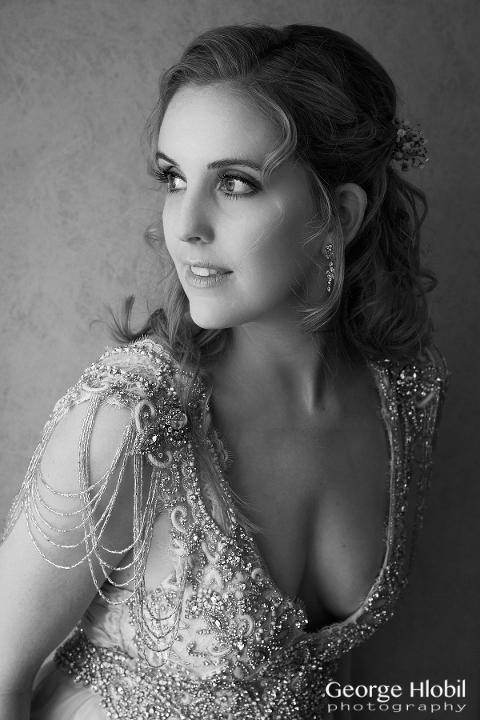 Prague wedding photography - Bridal portrait photo